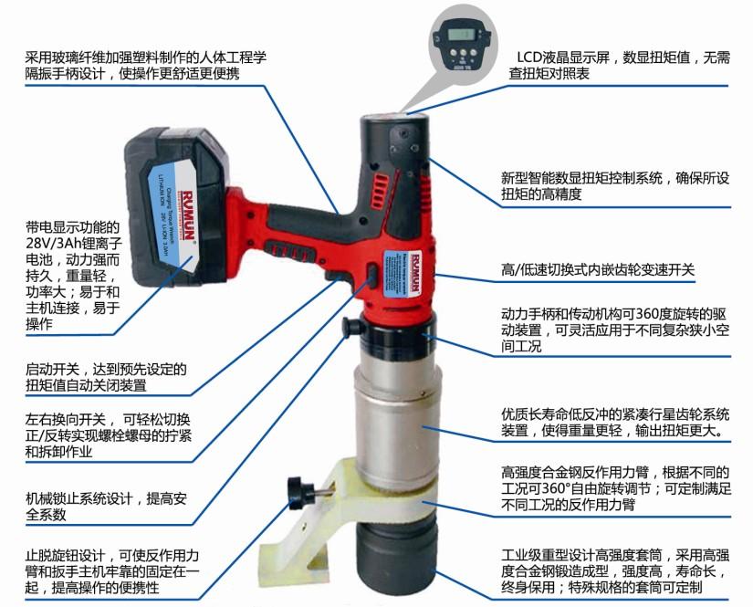 电动扳手-供应上海液压扳手图片